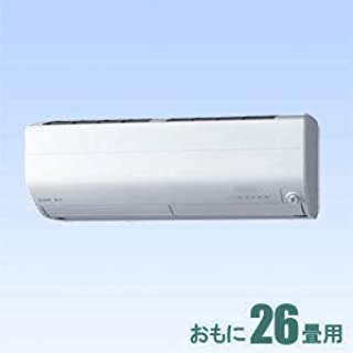 三菱 【エアコン】 霧ヶ峰おもに26畳用 (冷房:22~33畳/暖房:21~26畳) Zシリーズ 電源200V (ピュアホワイト) MSZ-ZW8019S-W