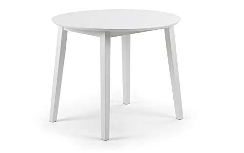 Julian Bowen Coast Dining Table, White