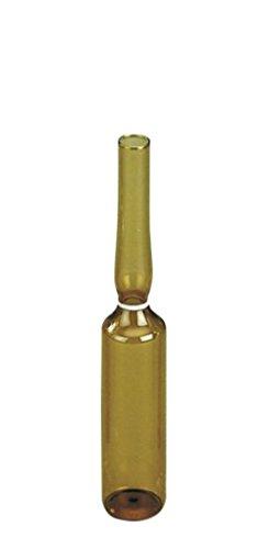 neoLab 3-1266 Spießampullen aus Fiolax Braunglas, 5 mL, 83 mm x 14,75 mm (343-er Pack)