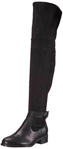 Nine West Women's Knee Boot, Black, 6 M