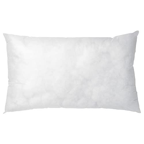 Almohada con Núcleo Blanco Simple 40x65 cm Blanco (Rectangular)