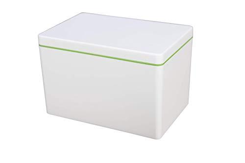 ajaa! Bio Aufbewahrungsbox aus nachwachsenden Rohstoffen ohne Weichmacher, plastikfrei, BPA frei (2.1l, lime)