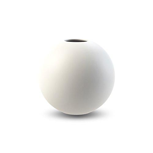 Cooee Design Ball Vase 8cm White