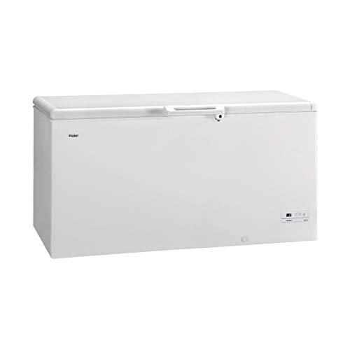 Haier HCE519R Freestanding Chest Freezer, 519L Total Capacity, 165cm wide,...