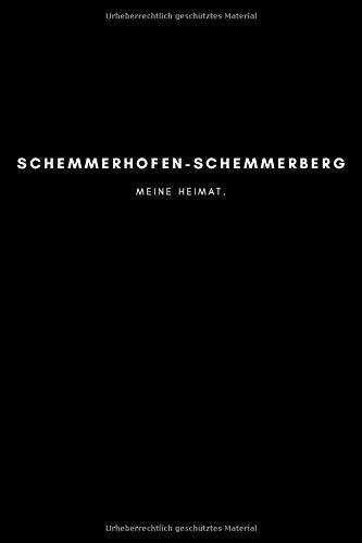 Schemmerhofen-Schemmerberg: Notizbuch, Notizblock, Notebook | Punktraster, Punktiert, Dotted | 120 Seiten, DIN A5...