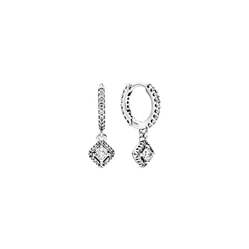 Pandora Mujer plata Pendientes de aro 298503C01