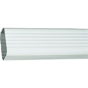 Amerimax Downspout Extension 2 X 3 X 15 Aluminum White by Amerimax Home Products