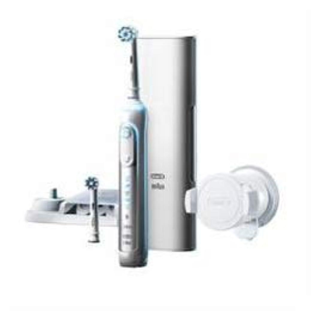 動かない潜在的なビルマブラウン 電動歯ブラシ ジーニアス9000 ホワイト D7015256XCTWH