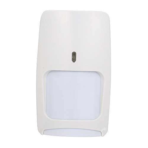 Securome Detector de movimiento por infrarrojos y microondas de doble tecnología con cable Sensor de movimiento PIR montado en la pared Inmunidad para mascotas para el sistema de alarma de seguridad a