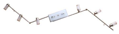 LED Gelenksystem Spotschiene Karl Spotlampe 9 flammig Fassung G9 Deckenleuchte