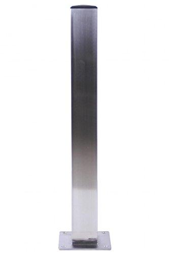 4x Tischbein Tischfuß Edelstahl quadratisch 105 cm 6x6 cm Nürnberg