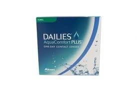 Dailies AquaComfort Plus Toric Daglenzen zacht, BC 8,8 mm/DIA 14,4 mm/CYL -1, 90 stuks