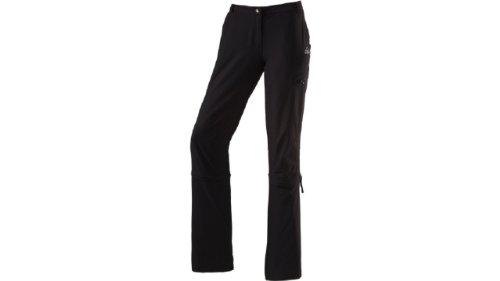 McKINLEY Damen Hose d-Con Reißverschluss Reparatur Komplett kg, Damen, Schwarz - schwarz, 72