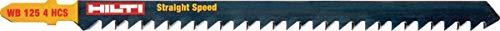 Hilti Hoja sierra calar WB 125 4 HCS (25), 25 Piezas, 2154910