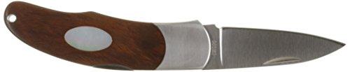 Moki Unisex– Erwachsene Messer Calliope Iron wood Taschenmesser, silber, one size