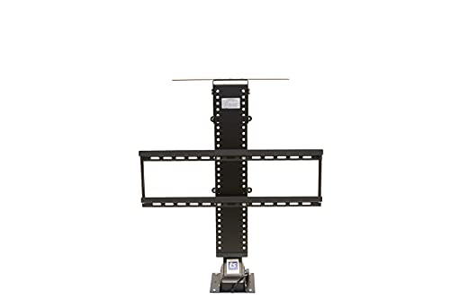 """Touchstone Valueline 30009 360º Manual Swivel Motorized TV Lift w/Remote Control for 26-50 inch TVs, 28"""" Height Adjust, 120 lb. Capacity, Height Memory, Flat-Lid Mount, RF & Wired Remote, NO CART"""