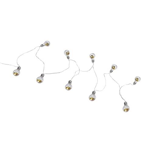 Guirlandes lumineuses à LED, ampoules LED à économie d'énergie anti-corrosion résistantes à la chaleur pour cadeau pour la famille pour les amis