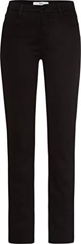 BRAX Damen Style.Mary Style Mary Five-Pocket-Hose in winterlicher Qualität Slim Fit, Schwarz, 36