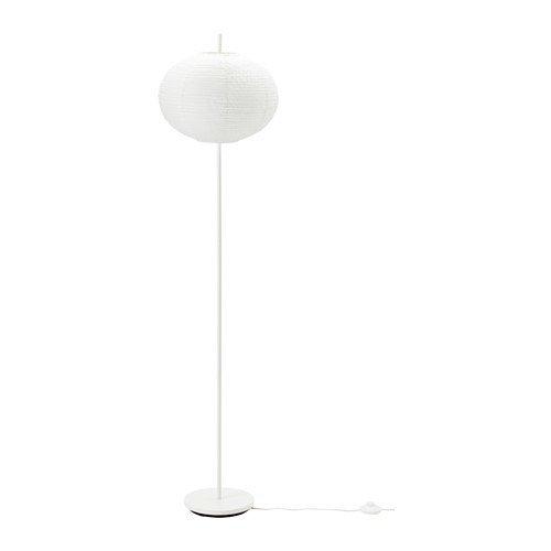 Preisvergleich Produktbild IKEA SOLLEFTEA Standleuchte in weiß; rund; (150cm); A