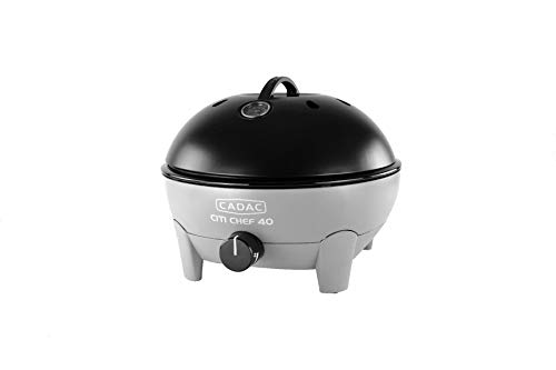 Cadac Citi Chef 40 Table Top Portable Gas Barbecue Flint Grey