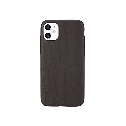 Funda de cuero de grano de madera 3D para iPhone X XR XS 11 Pro Max caso de silicona suave coque para iPhone 6s 7 8 Plus Xs Max SE 2020-estilo 5-para iphone 8PLUS