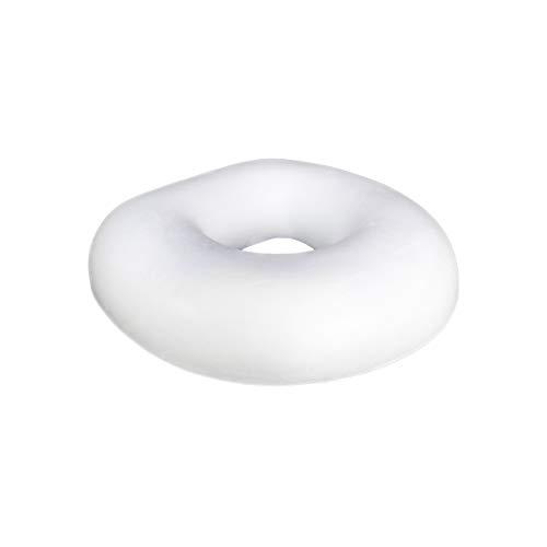 MERINO BETTEN Ergonomisches Sitzkissen | Donut-Kissen Sitzring mit Memory-Foam | natürliche Viskose | Schmerzlinderung | 42x42x8 cm