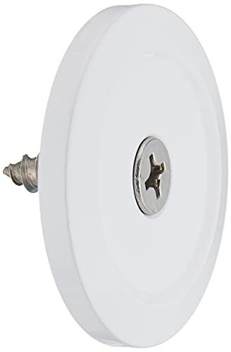 Bob's Machine 311-100001 DeckSaver Trolling Motor Stabilizer Plate - White
