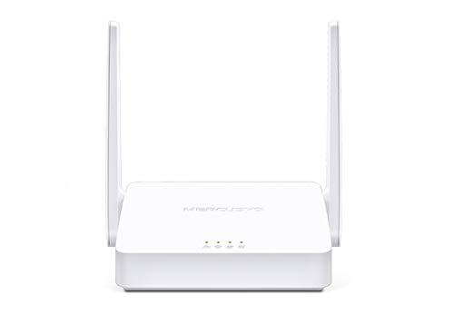 Mercusys N300 Wireless WiFi Router MW302R | Two 5dBi Antennas | 300Mbps Wi-Fi Speed | IPv6 Compatible | Parental Control | Multi-Mode