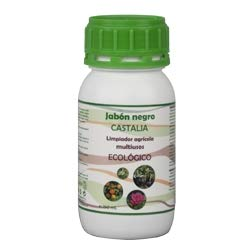 Castalia - Jabón Negro Ecológico - Formáto 250ml - Potencia la acción de Productos fitosanitarios Frente a plagas como pulgón, Mosca Blanca, araña roja o Trips.