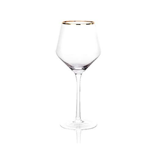 Sektgläser Beiläufig 480ml Cocktailglas Rotweinglas Champagner Glas Kristallglas Stemware Glas Haushalt 6.5x22.2cm Lostgaming (Color : B)