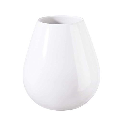 ASA Vase, Keramik, weiß, 9 cm