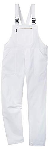 Uvex Whitewear 126 Herren-Arbeitshose - Weiße Männer-Latzhose 90