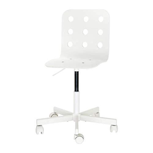 IKEA Jules 392.077.16 Kinder-Schreibtischstuhl, Weiß