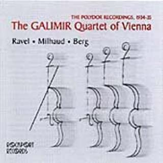 The Polydor Recordings, 1934-35: The Galimir Quartet of Vienna:
