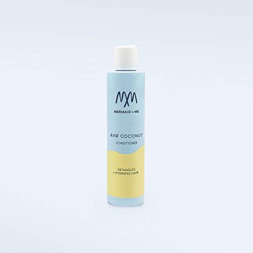 Mermaid + Me Raw Coconut Conditioner (200 ml) – reichhaltige Haarspülung mit Kokosöl – Spülung mit pflegendem Sheanussöl – süßer Kokos Duft