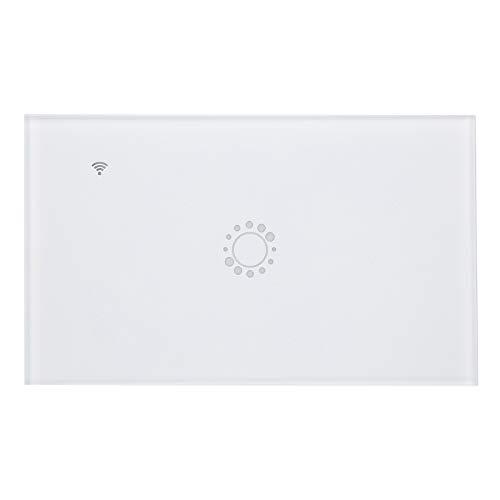 Interruptor inteligente, interruptor de control de la aplicación Interruptor táctil inteligente Interruptor de control Wifi para escenas inteligentes para hogares inteligentes
