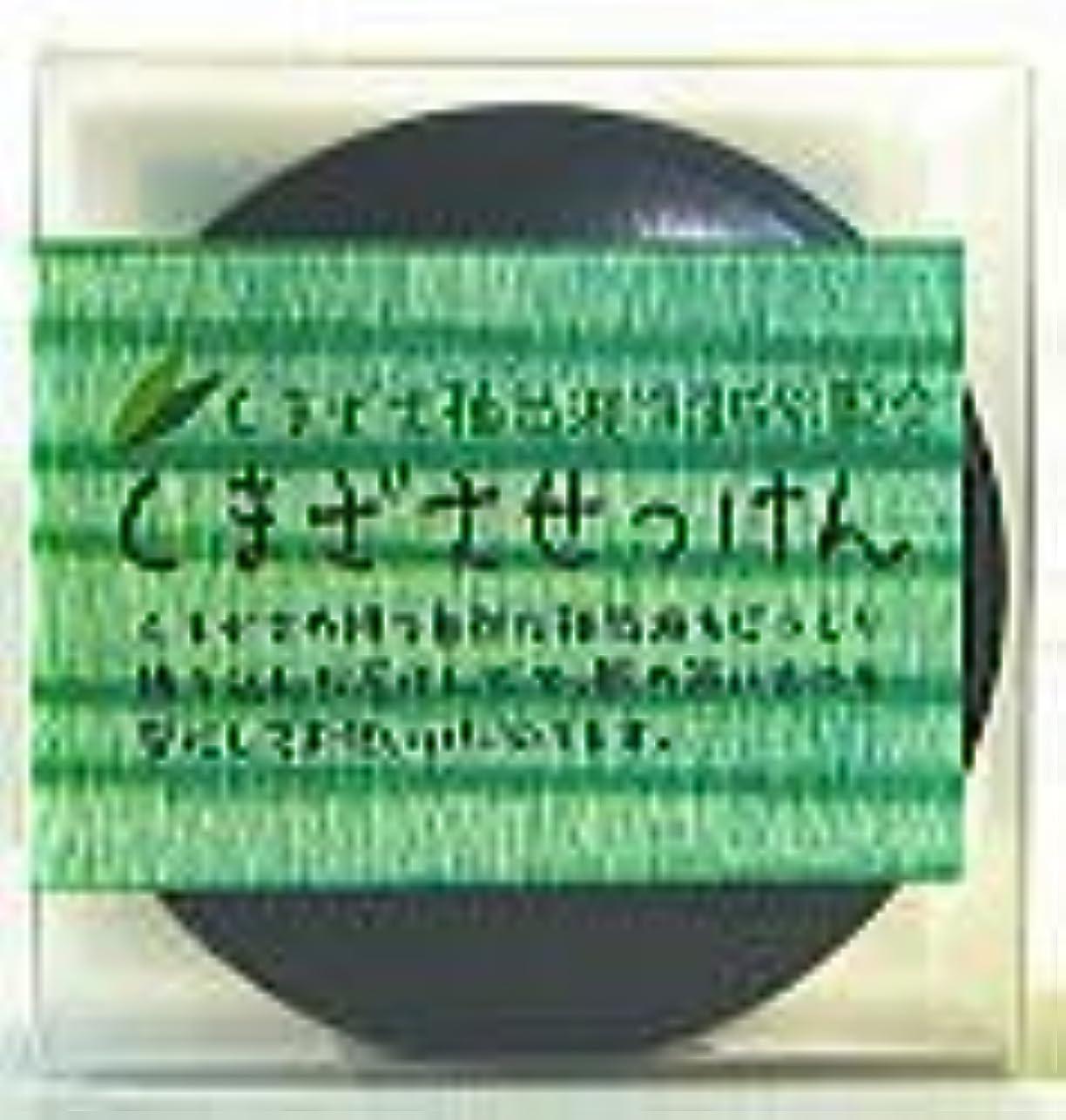稚魚くしゃみ日常的にサンクロン クマザサ石鹸 100g×3