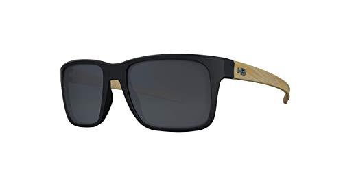 Óculos de sol H-Bomb 2.0 HB AdultoUnissex Preto Matte/Madeira Único