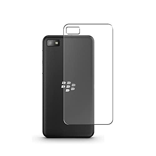 Vaxson 2 Stück Rückseite Schutzfolie, kompatibel mit BlackBerry Z10, Backcover Skin TPU Folie [nicht Panzerglas/nicht Front Bildschirmschutzfolie]