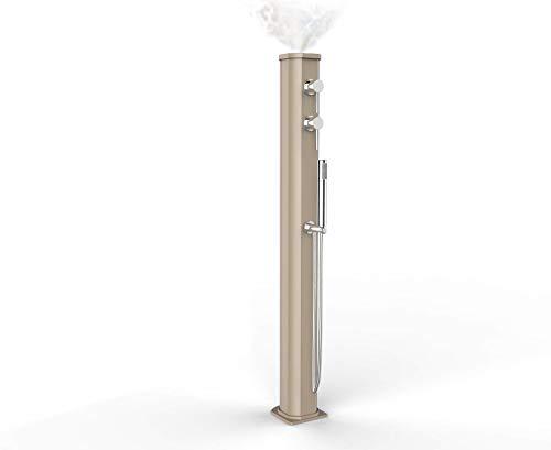Arkema Design JG150 Douche chaude solaire avec mitigeur et douchette, Sable