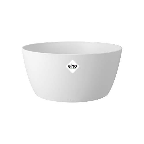 Elho Brussels Bowl 23 - Macetero - White - Interior - Ø 23 x A 10.8 cm