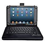 【選べる5色】 Sony Xperia Z4 TabletケースJPIVSO®オリジナルSony Xperia Z4 Tabletキーボード (9-10インチのタブレットも適用) 開閉で自動的 PUレザーケース マグネット着脱可能 一体型 ワイヤレスキーボード (ブラック)