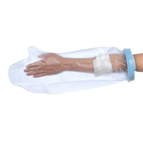 BESTEK Wasserdichte Gipsschutzfolien Gipsschutz Wasserdichte Arme für eine Dusche, Schutzverbände über dem Arm für Bad & Dusche (Arm für Erwachsene)