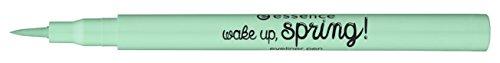 Essence Wake Up, Spring! Eyeliner Pen Nr. 03 spring a-ling a-ling pastel Liquid Eyeliner Inhalt: 1ml Farbe: grün Eyeliner Pen für einen präzisen Lidstrich ohne verwischen.