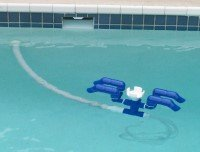 : Strider-SS Automatic Pool Skimmer and Cleaner : Pool Cleaning Tools & Attachments
