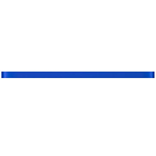 Not specific TCLING-12H Electric Blue Glass Pencil Liner Trim Wall Tile Border 1/2'x12' (1 pc)