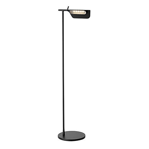 MASODHDFX Art Decoration vloerlamp Creative Eye-bescherming Moderne staande lamp licht Office Desk vloer naar huis G9 LED-lamp warm,B