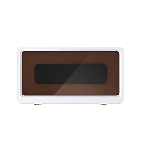Mizuho Caja de almacenamiento para teléfono de baño sin perforaciones, resistente al agua, soporte para teléfono móvil, caja de almacenamiento para personas perezosas y manos libres (color: B)