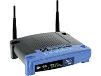 Linksys Net WLAN Router WRT54GL-DE (54/4P) Kat:Netzwerk & Kommunikation Router DSL