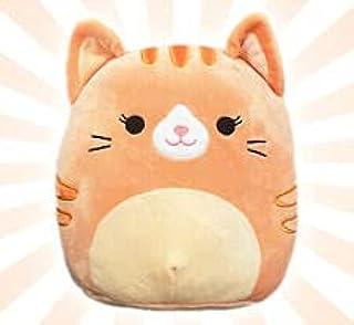 "Squishmallows 8"" Gigi The Orange Tabby Cat"